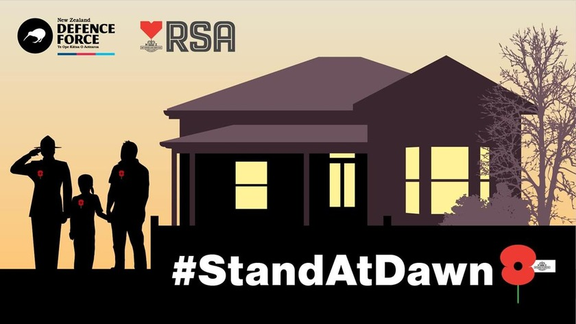 Let's all Stand At Dawn – apart, but together as one