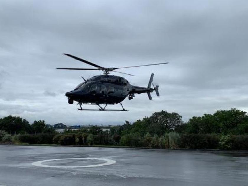 Aerial search of Whakaari /White Island