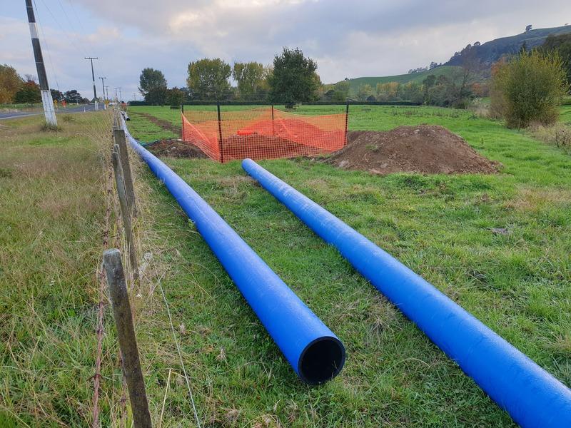 Hauraki District Council's Kaimanawa drinking water supply project begins