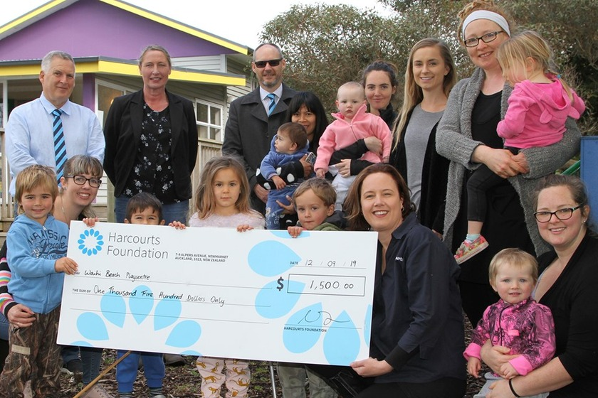 Harcourts Gold Star Real Estate proudly supports their community