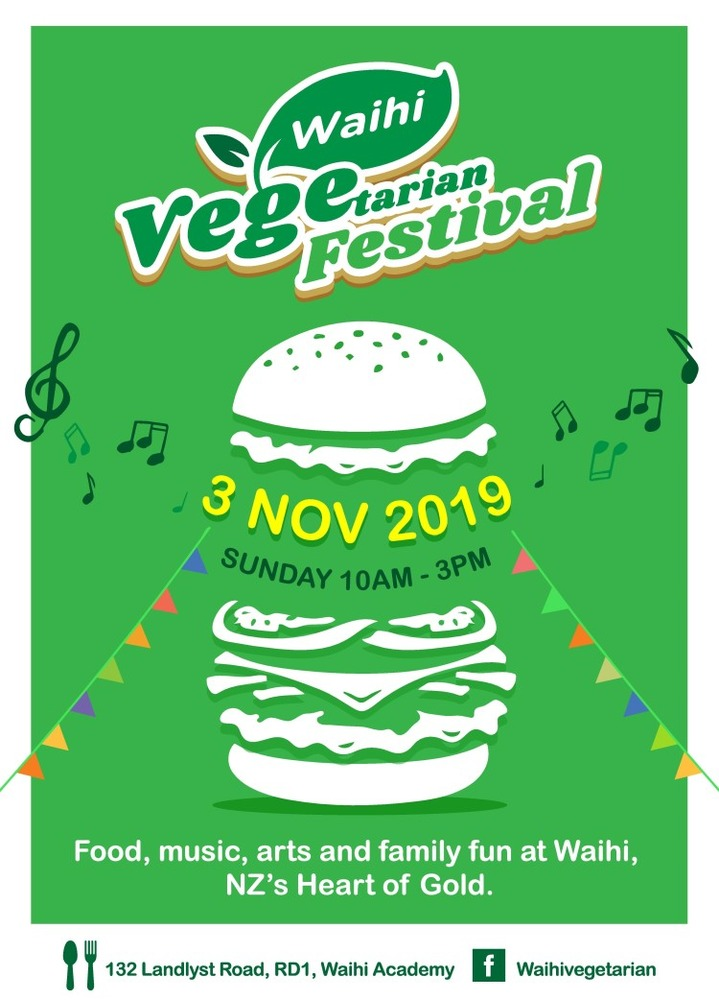 Vege fest and more this Sunday!