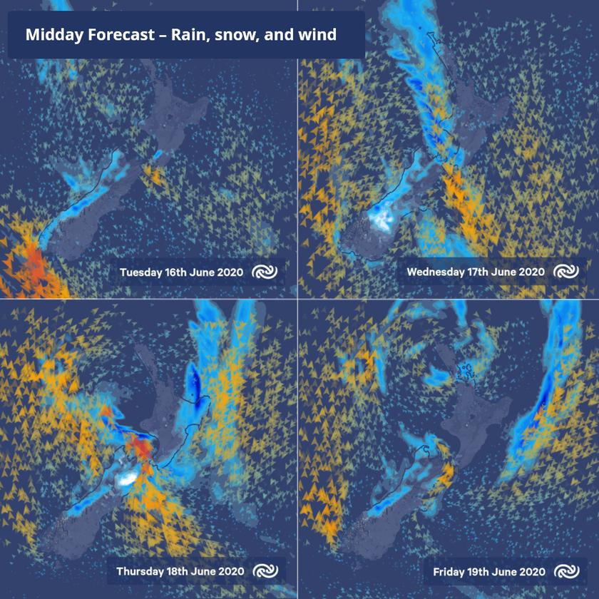 Winter flips the switch: Wet weather returns
