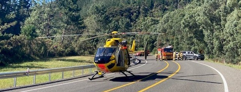 Father and son airlifted to hospital after Athenree Gorge incident last Friday