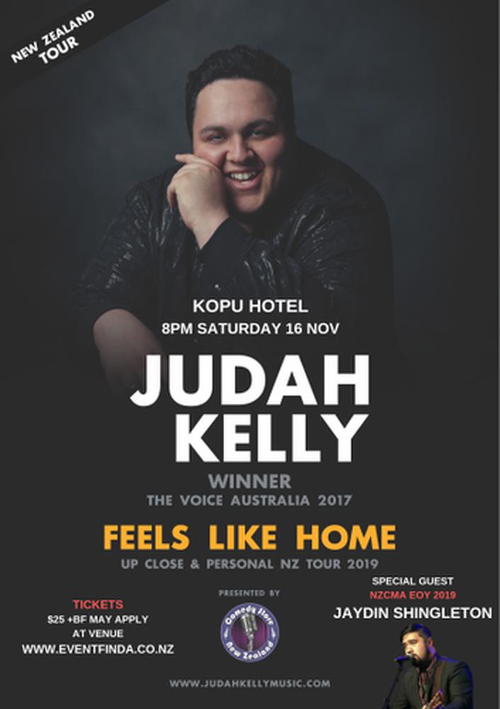 Judah Kelly Feels At Home