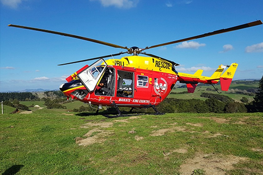Man critically injured by microlight propeller