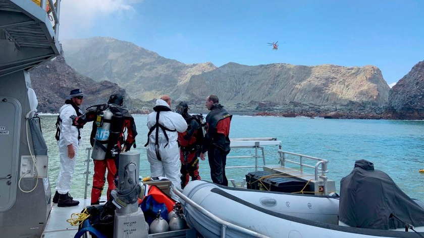 Whakaari / White Island search resumes today