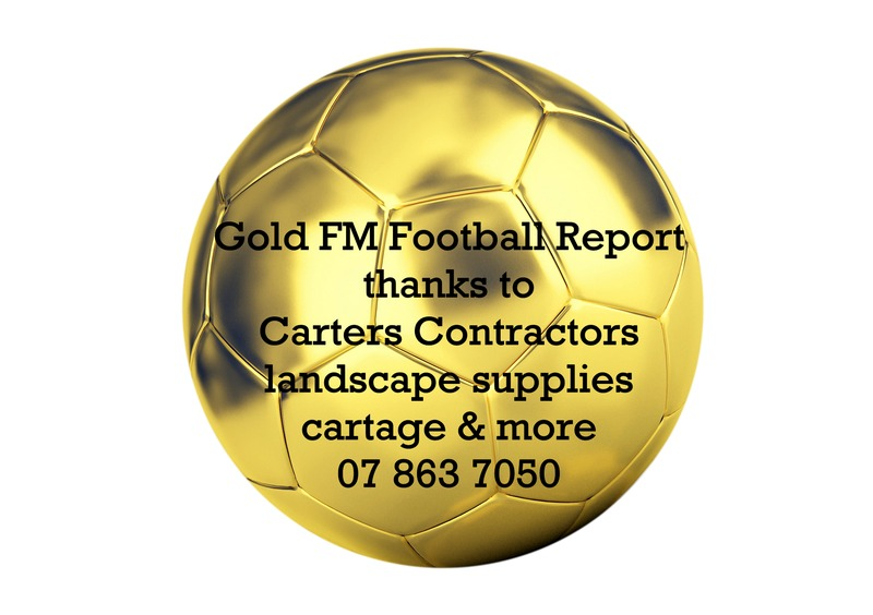 The Gold FM Football Report with Carters Contractors