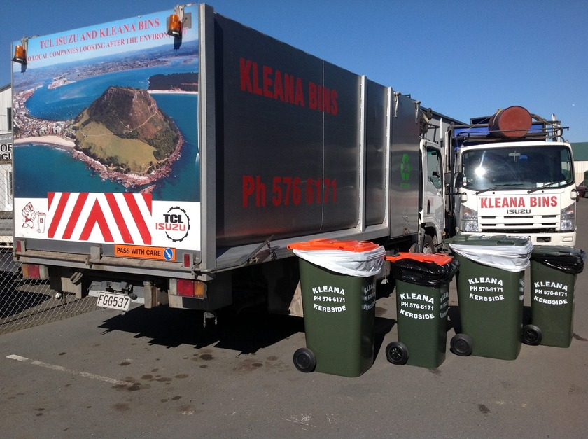 Offer of rubbish collection for Western Bay remote rural areas