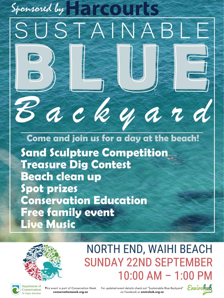 Celebrate Conservation @ Sustainable Blue Backyard