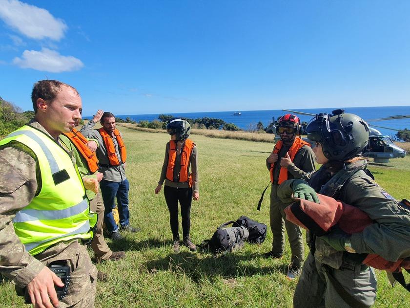 Rescue from Rangitāhua/Raoul Island