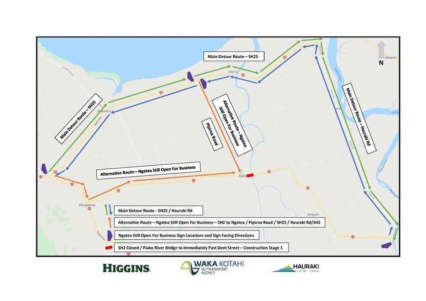 Ngatea main street upgrade – stage one underway
