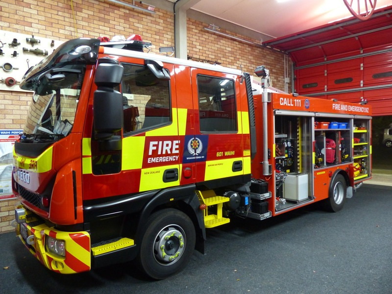 Waihi Fire & Rescue has flash new fire truck