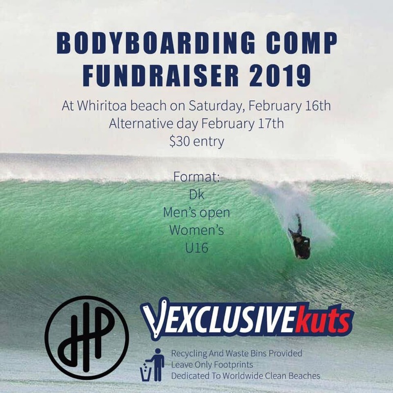 Body boarding competition aims to raise funds and the sport profile