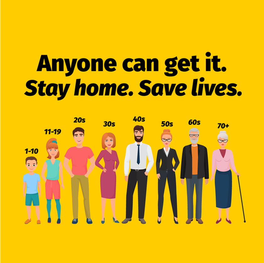 Stay home (not your holiday home) and save lives