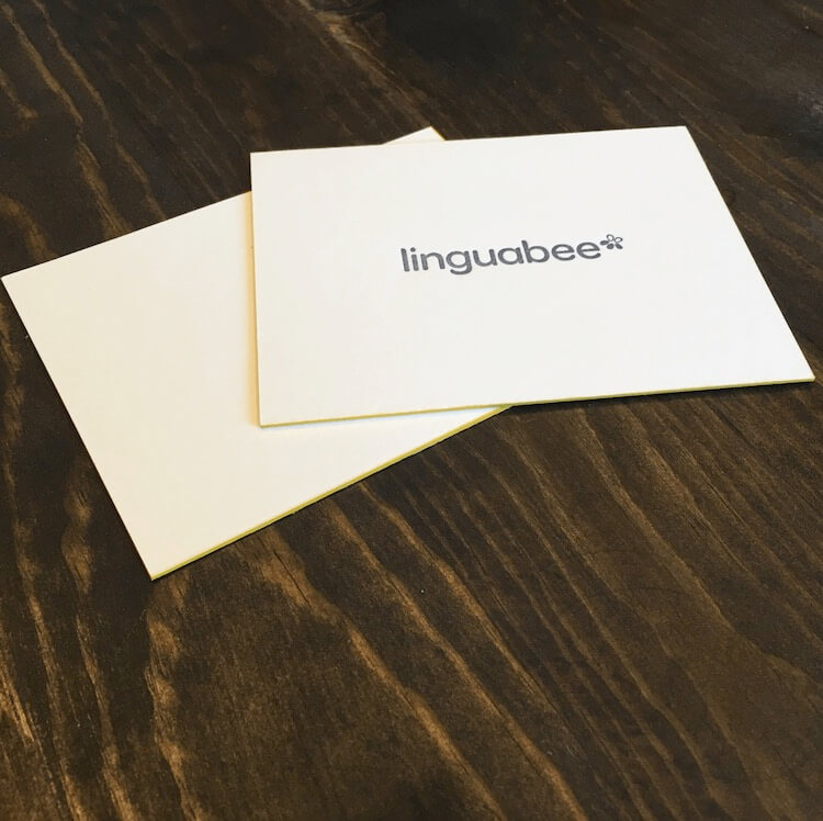 Linguabee Business Cards