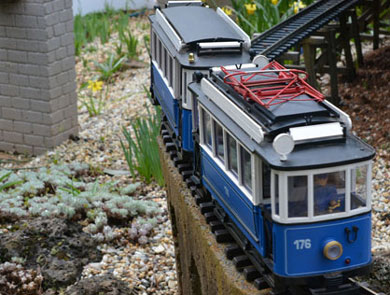 Open Garden and Trains in the GArden at Drewitts