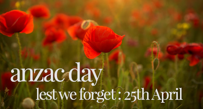 Anzac Day in the Villages