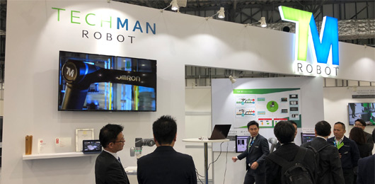 Techman Robot Unveils AI Vision and TMmanager at 2019 iREX
