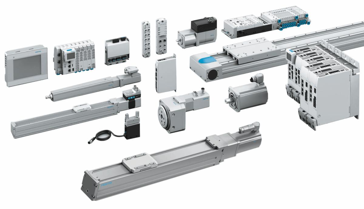 Festo Electric Automation - Seamless Connectivity