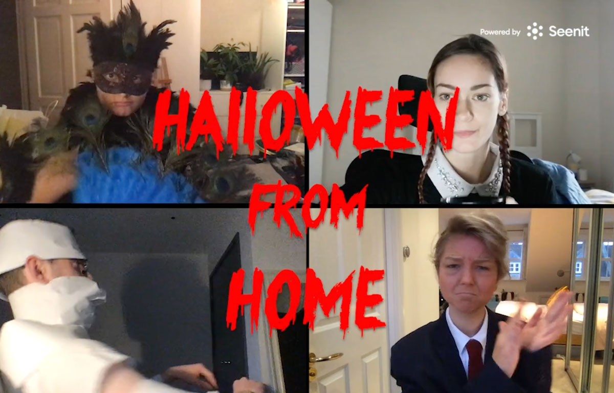 Halloween from Home