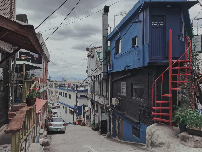Alleyway by Roxane Von Hurter