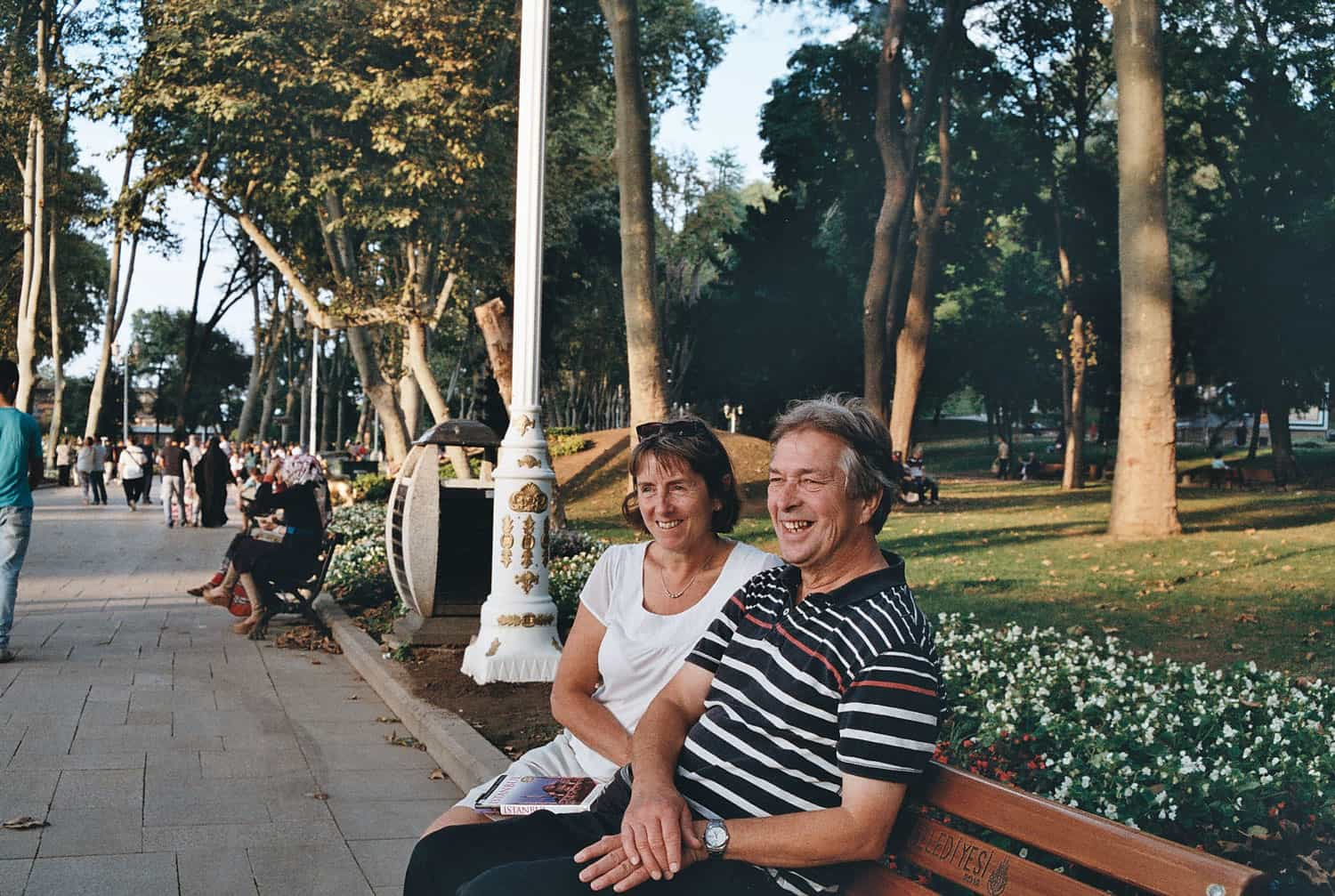 Parents in Istanbul by Charlotte Emms