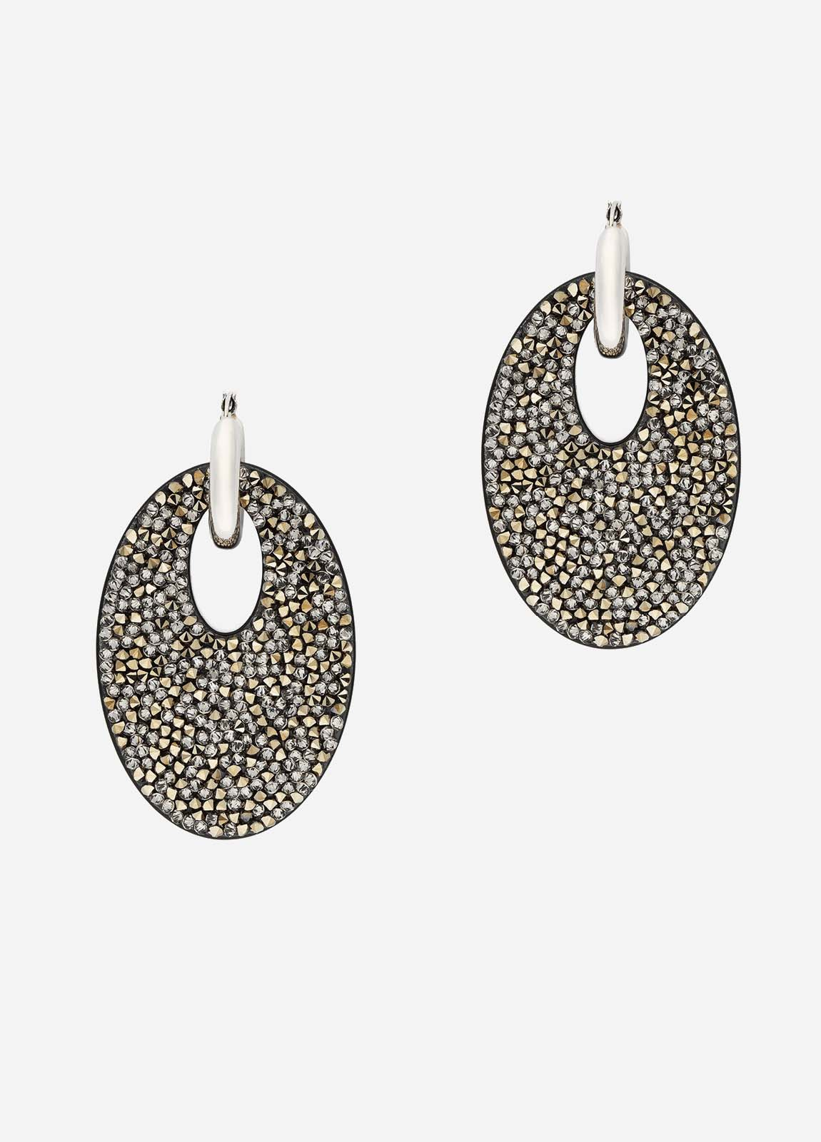 Alexandra Earrings, Grande, Women, Silver