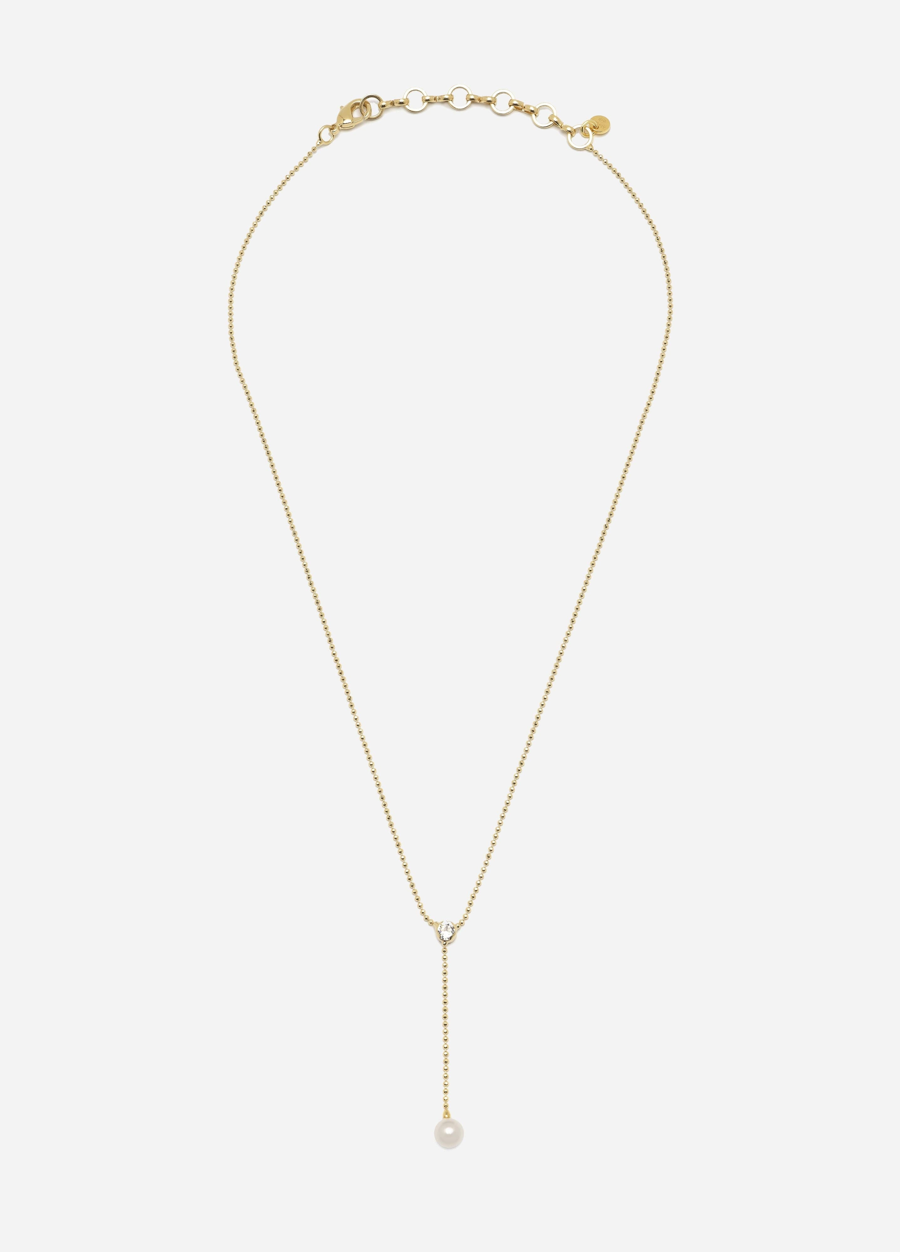 Lovey Necklace, Classic, Women, Gold