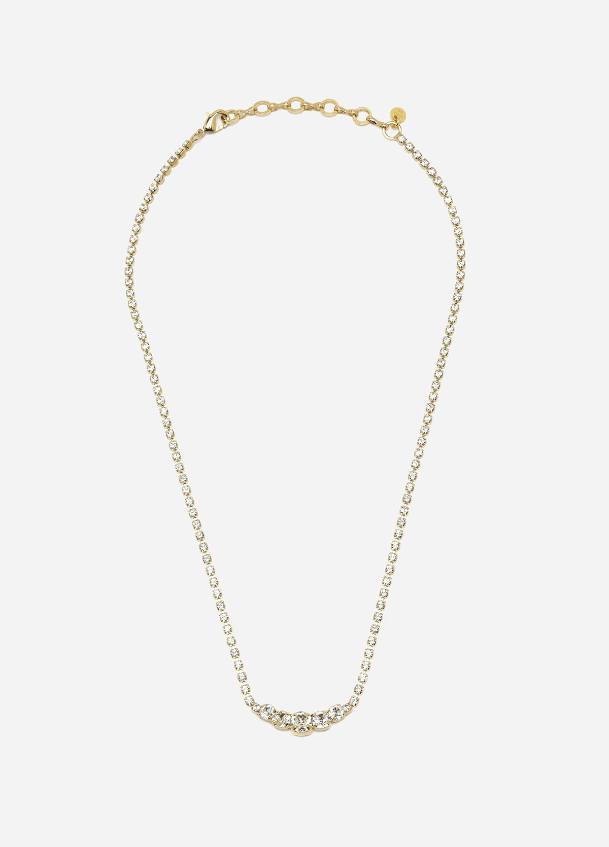 Royal Necklace, Grande, Women, Gold