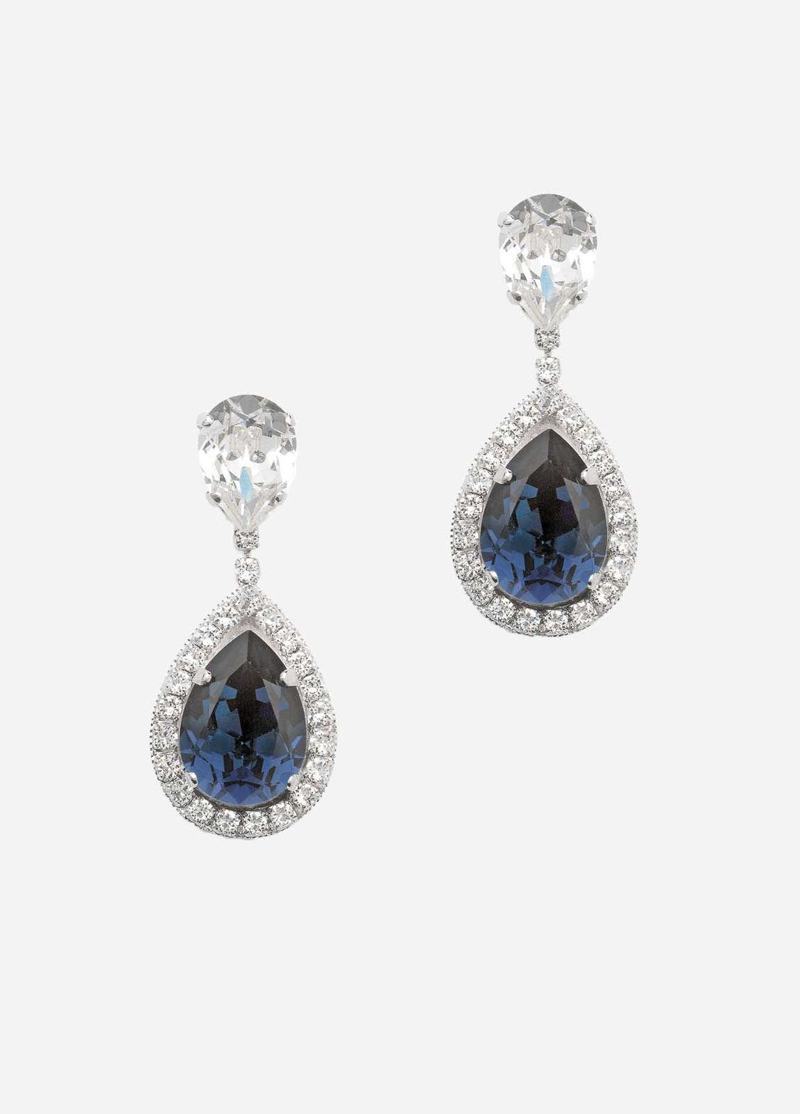 Bella Earrings, Grande, Women, Blue
