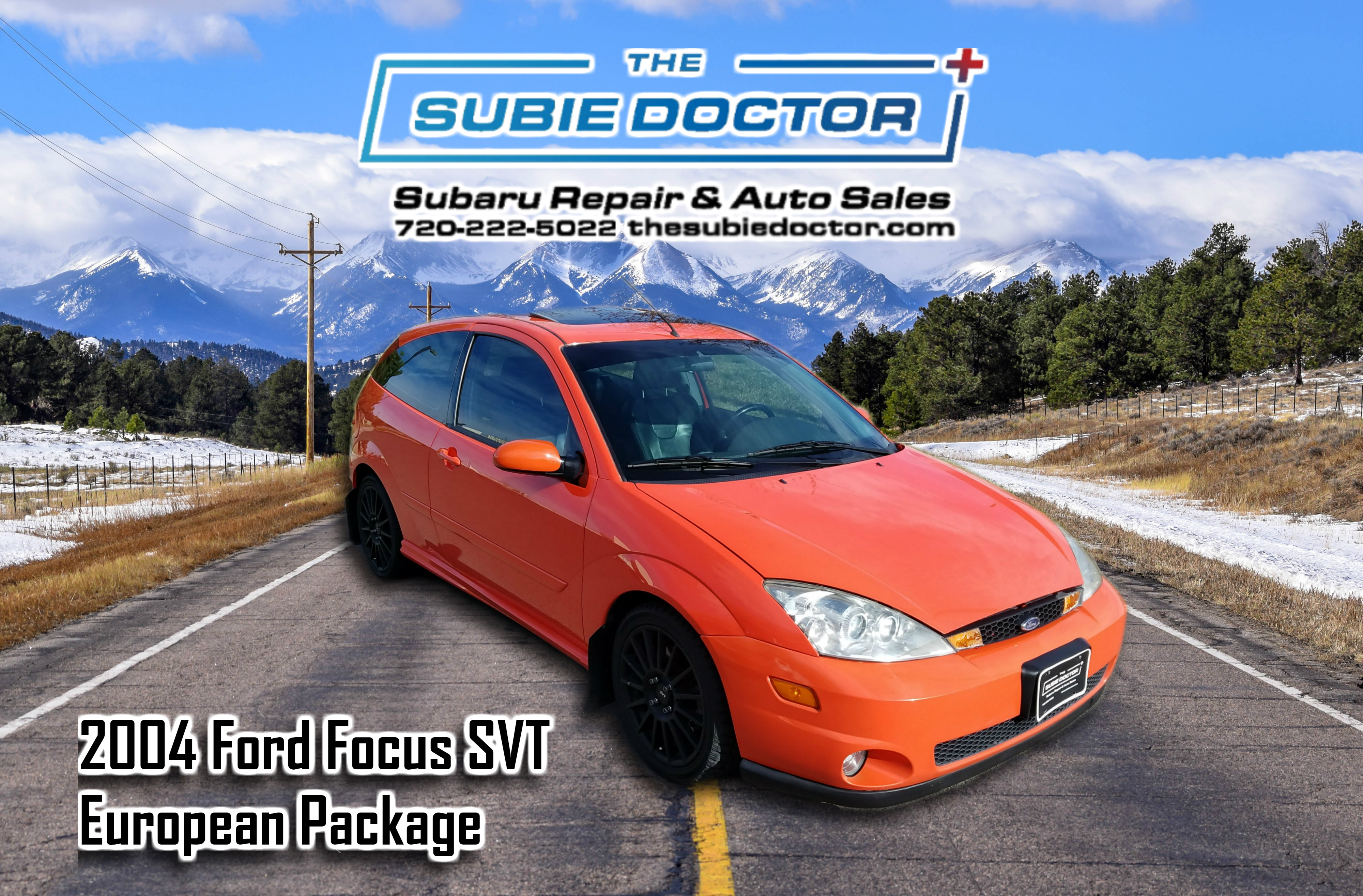2004 Ford Focus SVT for sale in Denver, Colorado at The Subie Doctor