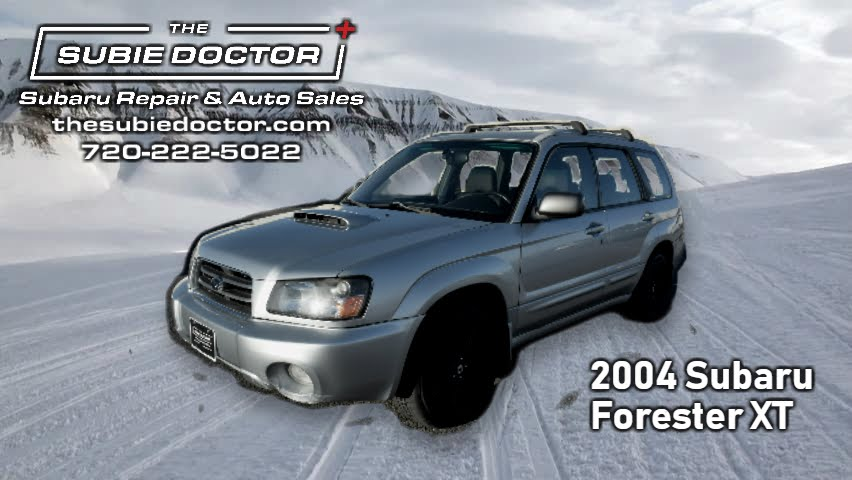 2004 Forester XT Turbo - Denver, CO