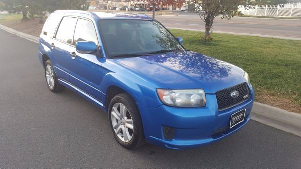 2008 Forester Sports