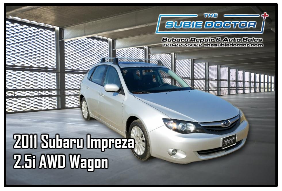 2011 Subaru Impreza 2.5i Wagon - C821153