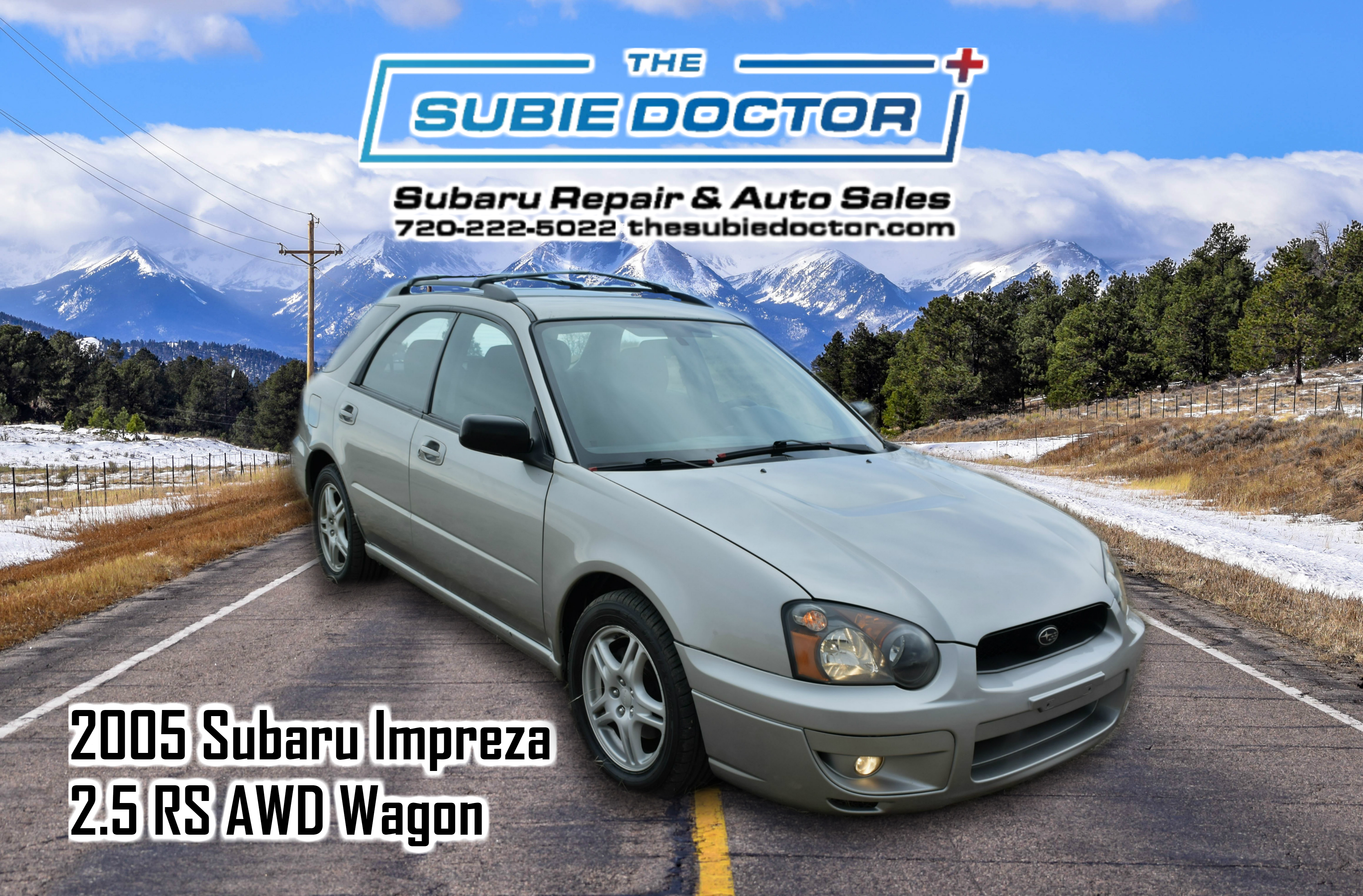 2005 Subaru Impreza 2.5 RS Wagon for sale in Denver, Colorado at The Subie Doctor