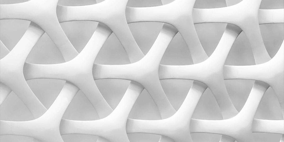 Digital art resembling tightly woven plastic material