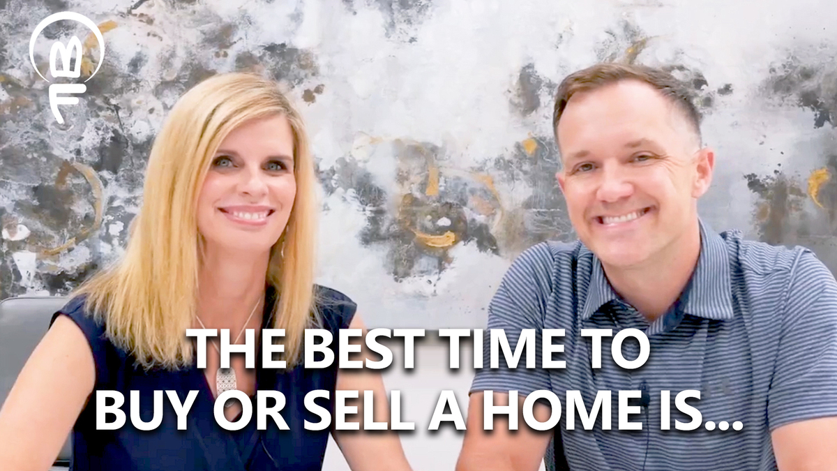 When Is the Right Time to Buy or Sell a Home?