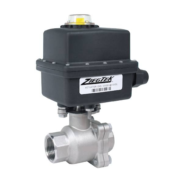NH3 Vented Stainless Steel Ammonia Ball Valves
