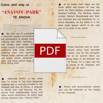 Anavon Flyer