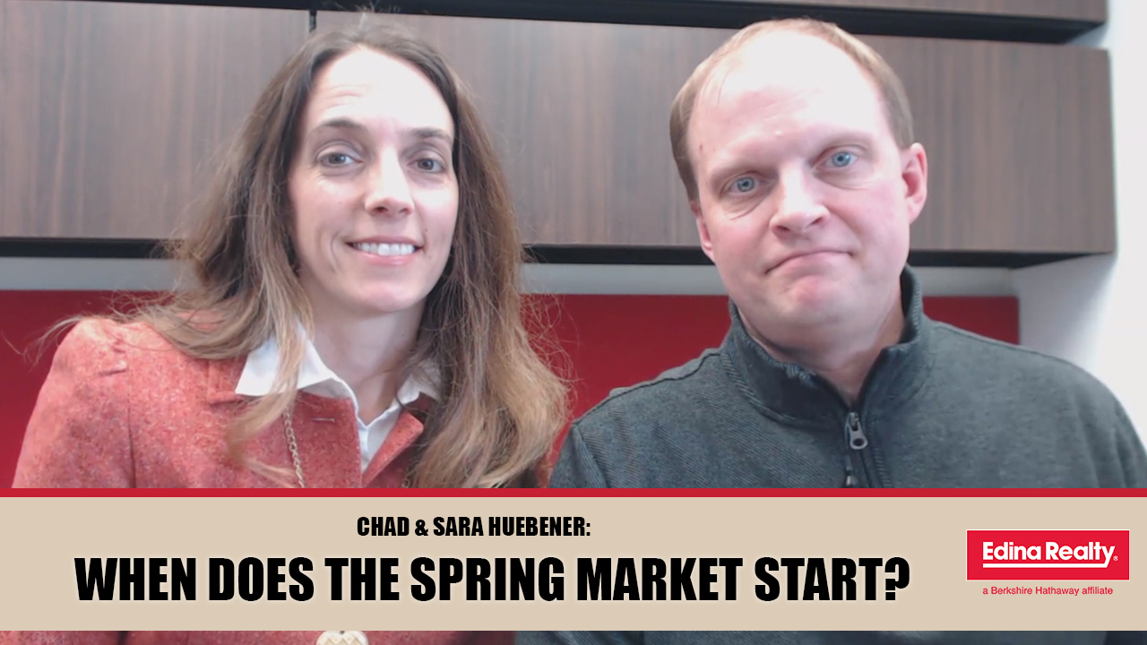Tracking the Start of Our Spring Market