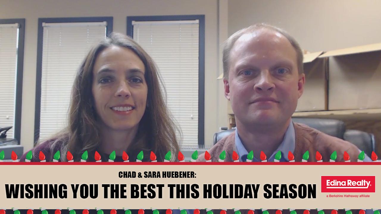 Happy Holidays From Chad and Sara Huebener