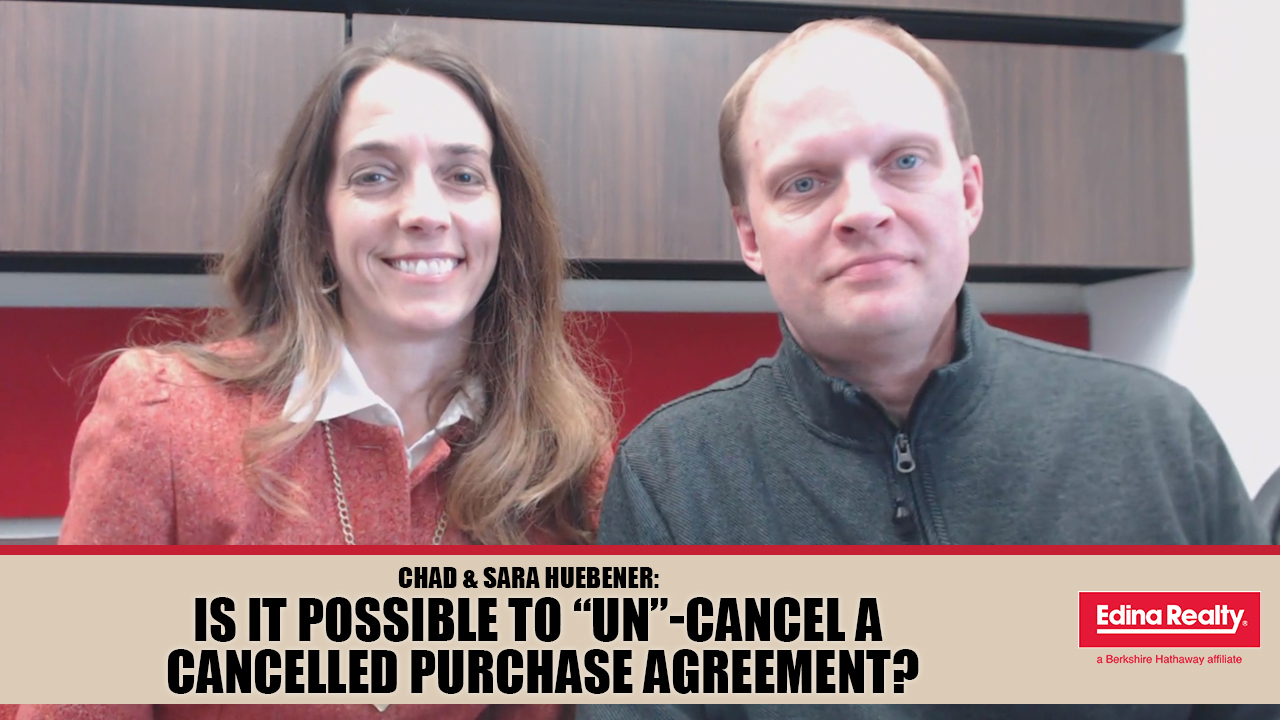 Why a Canceled Purchase Agreement Doesn't Have to Kill a Transaction