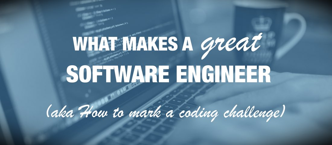 How to review a peer reviewed code challange to assess a software engineers skills