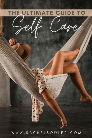 Self Care for Busy People by Rachel Bowler
