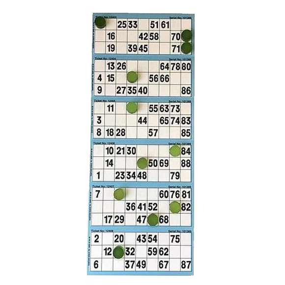 Bingo Session Tickets