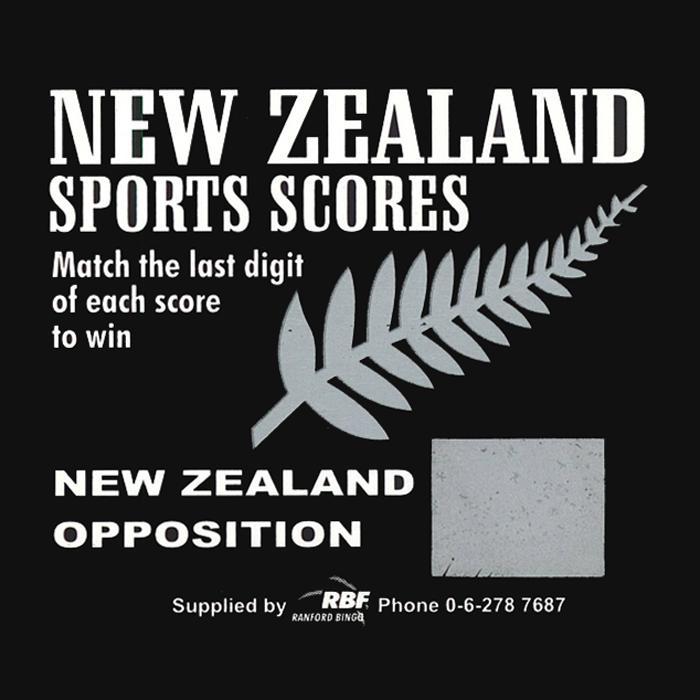 New Zealand Sports Scores