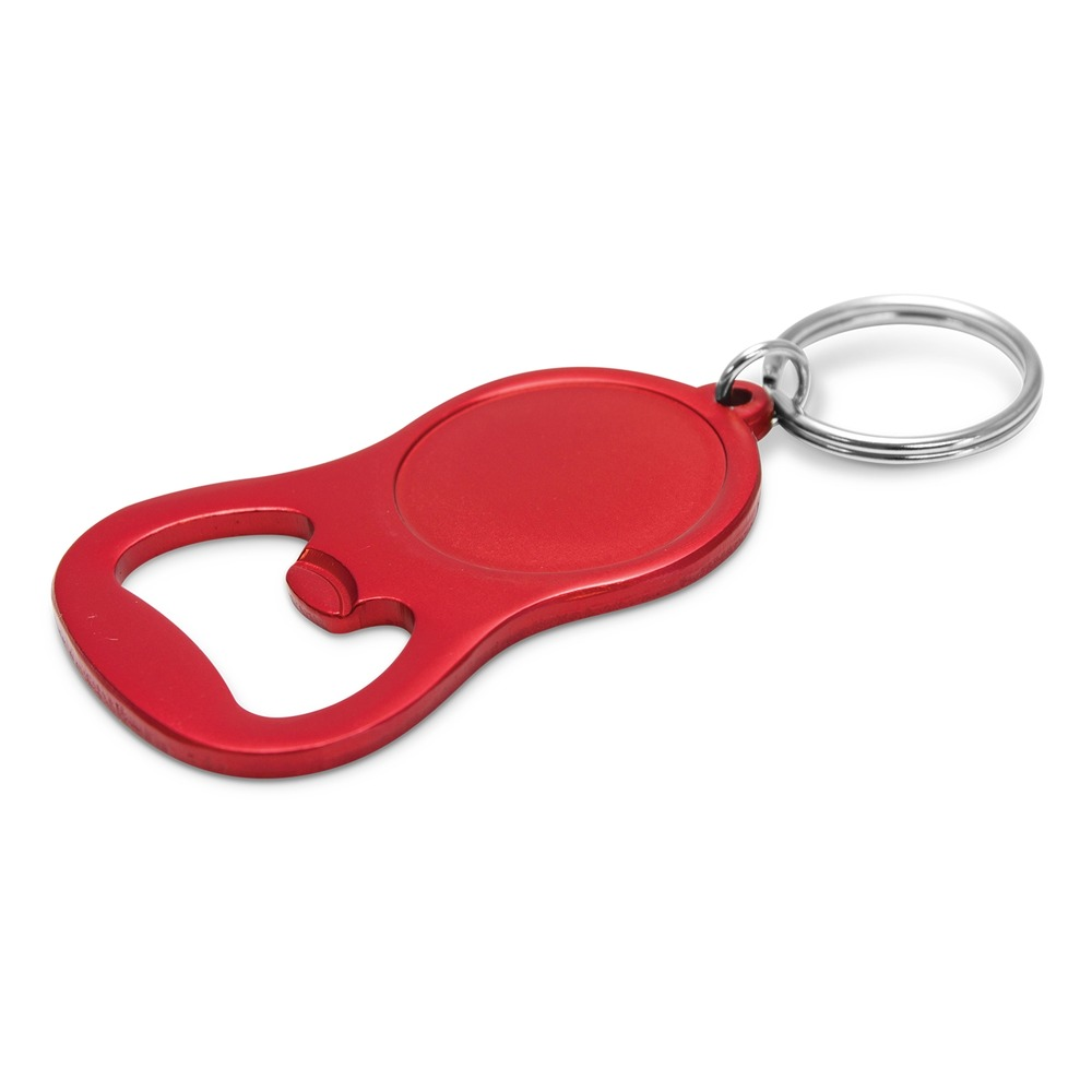 Chevron Bottle Opener - Red