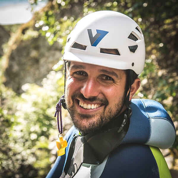 Andrew is a professional canyoneer from Colorado, USA. He is the co-founder of V7 Academy and owner of Canyoning Colorado.