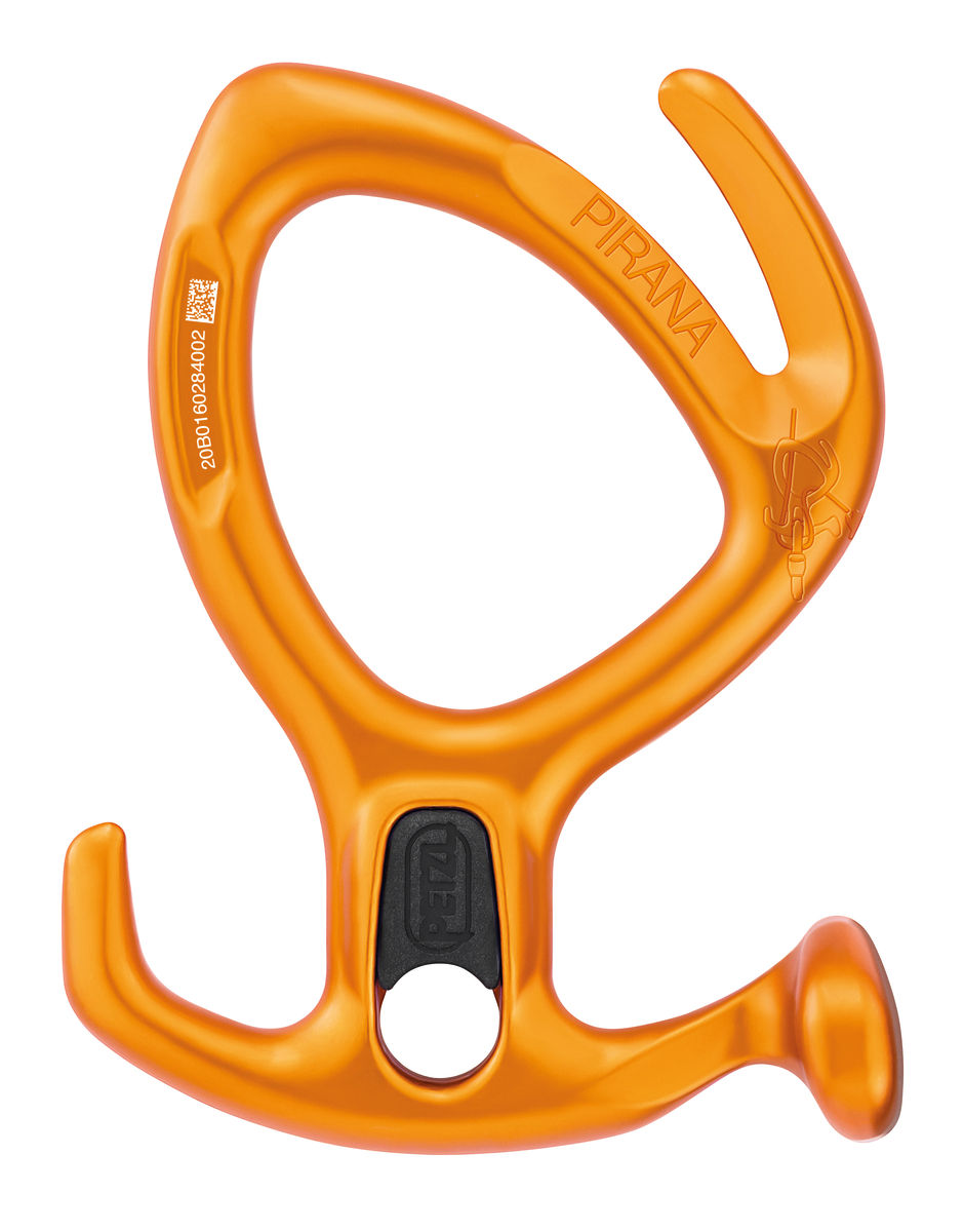 Petzl Pirana 2020 review canyoning descender comparison