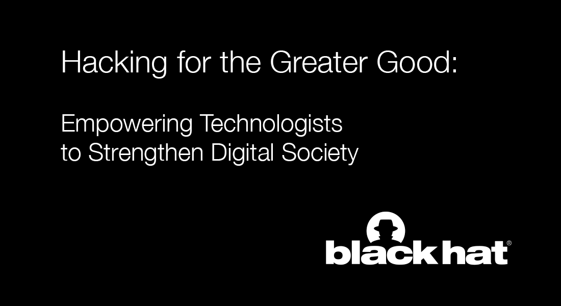 Hacking for the Greater Good: Empowering Technologists to Strengthen Digital Society image